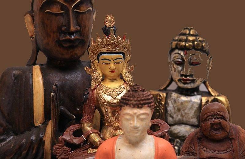 Buddha ábrázolások