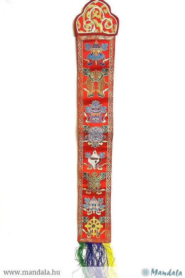 Fali brokát 8 szerencse szimbólum - Mandala.hu - Nagykereskedelem és ... 5a29ffafb7