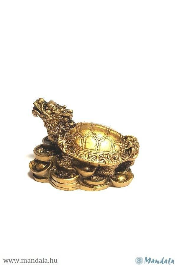 Fengshui sárkányfejű teknős