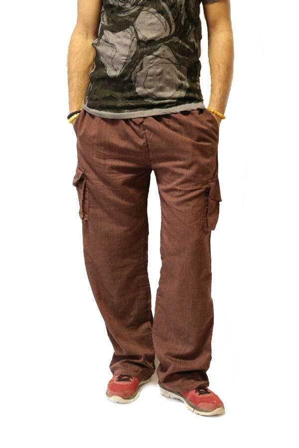 Lenvászon férfi nadrág barna - Mandala.hu - Nagykereskedelem és ... 928348fc0e
