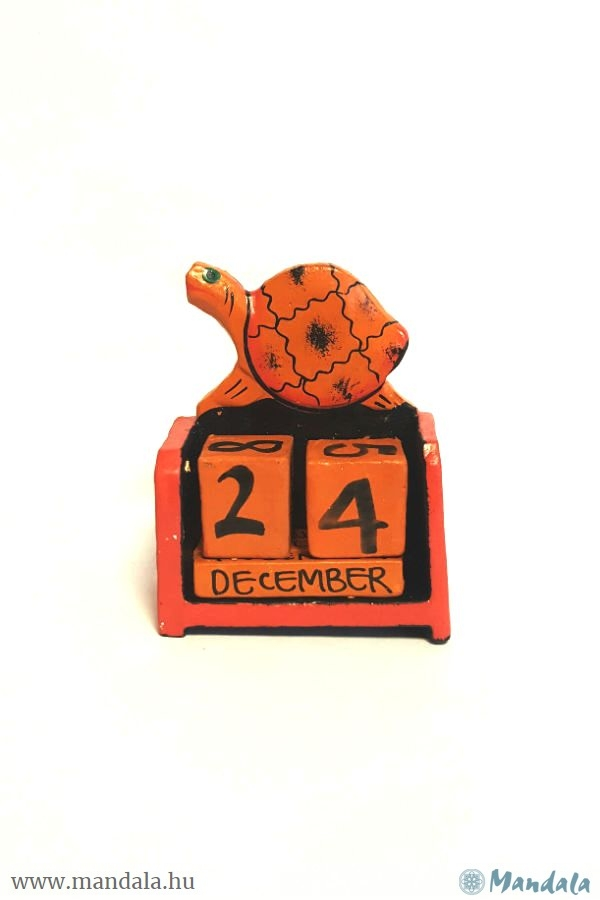 Fa öröknaptár teknős