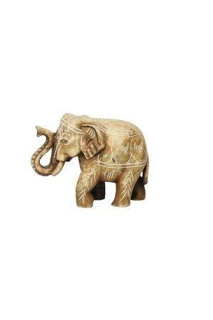 Elefánt-barna-mintás