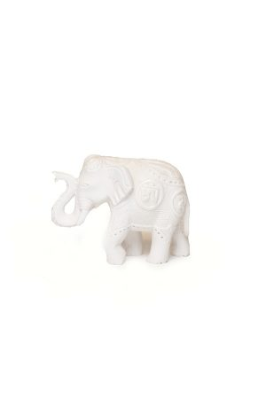 Elefánt-fehér-mintás