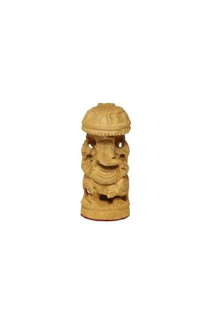 Ganesha-fa-szobor