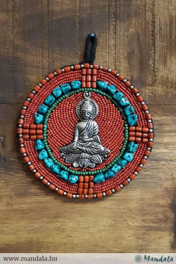 Buddha falikép köves
