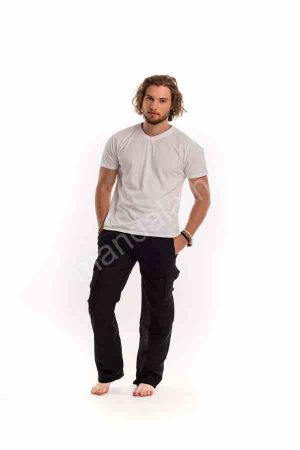férfi-nadrág-lenvászon-fekete