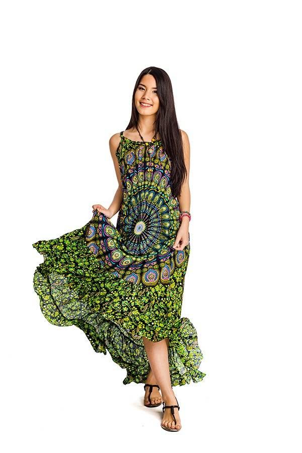2785bfea57 Indonéz mandala ruha zöld - Mandala.hu - Nagykereskedelem és webáruház