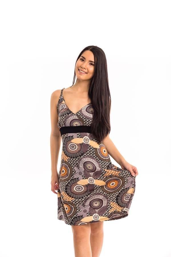 833497db71 Nyári ruha barna mandalás - Mandala.hu - Nagykereskedelem és webáruház