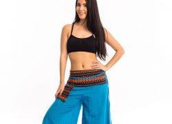 Thai hegyi nadrág szoknya kék