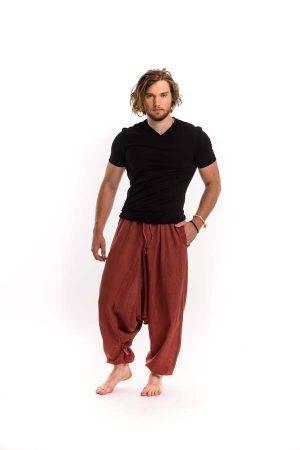 férfi-nadrág-jóga-barna