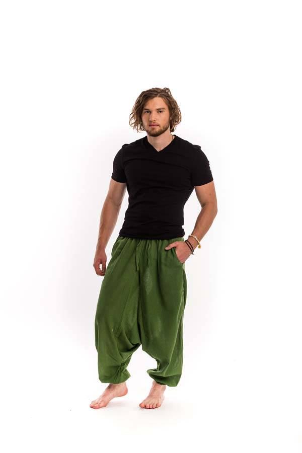 7f37605b13 Férfi jóga nadrág zöld - Mandala.hu - Nagykereskedelem és webáruház