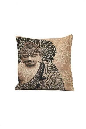 Díszpárna-Buddhás