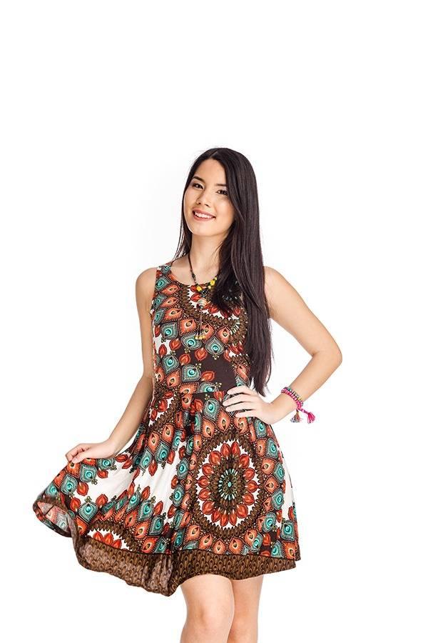 3721080ace Nyári bohém ruha fehér mandala - Mandala.hu - Nagykereskedelem és ...