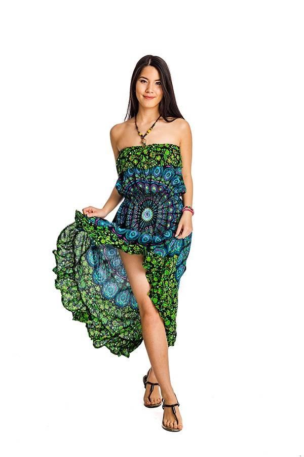 160198624a Indonéz mandala ruha zöld - Mandala.hu - Nagykereskedelem és webáruház