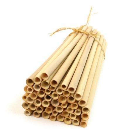 Bambusz szívószál 50 db
