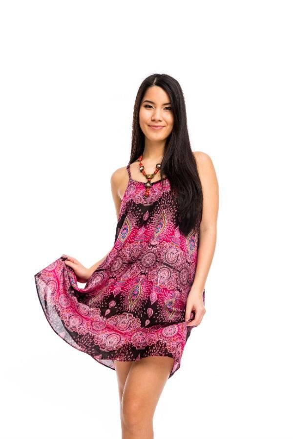 df59ec38cb Pántos rövid ruha mályva - Mandala.hu - Nagykereskedelem és webáruház
