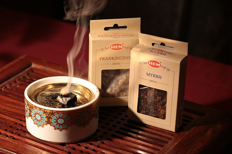 Gyanta füstölő