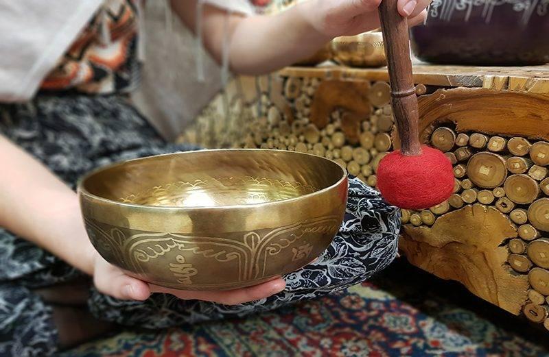 Tibeti hangtál- a hangterápia eszköze